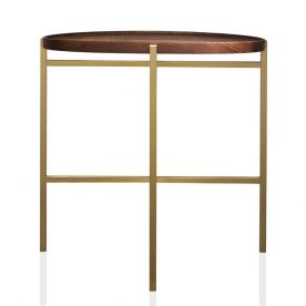 Fold Unlimited Collection Side Table Designed By Eugenie Kawabata Melbourne, Australiatable Walnut Wood 2