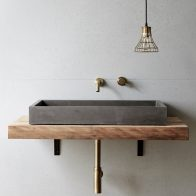 Cube Basin By Concrete Nation Local Australian Bespoke Bathrooms Gold Coast, Qld Image 1