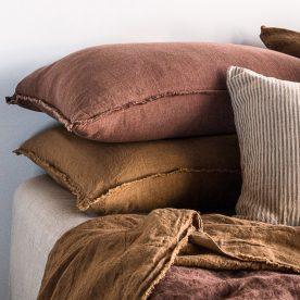 Hale Mercantile Co. Flocca Linen Cushion