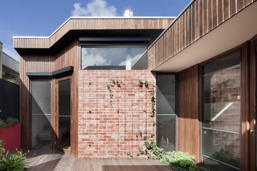 Exterior Australian Architecture - North Fitzroy Downsize - Steffen Welsch Architects