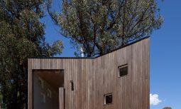 Exterior Timber Australian Architecture - Marysville - Steffen Welsch Architects 1