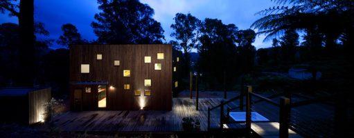 Exterior Timber Australian Architecture - Marysville - Steffen Welsch Architects