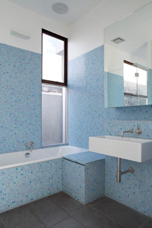 Bathroom Interior Australian Architecture - Clifton Hill - Steffen Welsch Architects
