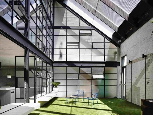 Courtyard Area of Fitzroy Loft - Archtiects EAT