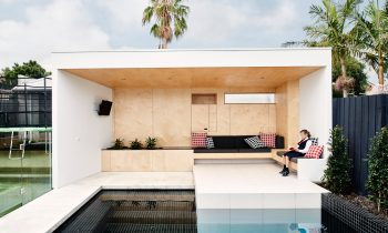 Brighton Bunker - Australian Exterior Seating Timber Detailing - Dan Gayfer Design - Architecture Archive