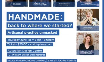 Handmade Event by Australian Design Alliance and Factory District Design - Darlinghurst, NSW, Australia - Event - Profile Image
