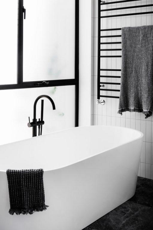 Bell Street House - Australian Bath - Techne Architecture + Interior Design - Architecture Archive