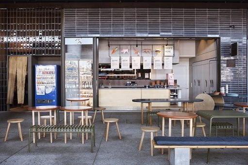 Ume Burger by Amber Road - Barangaroo, NSW, Australia - Interior Commercial Design & Architecture - Image 1