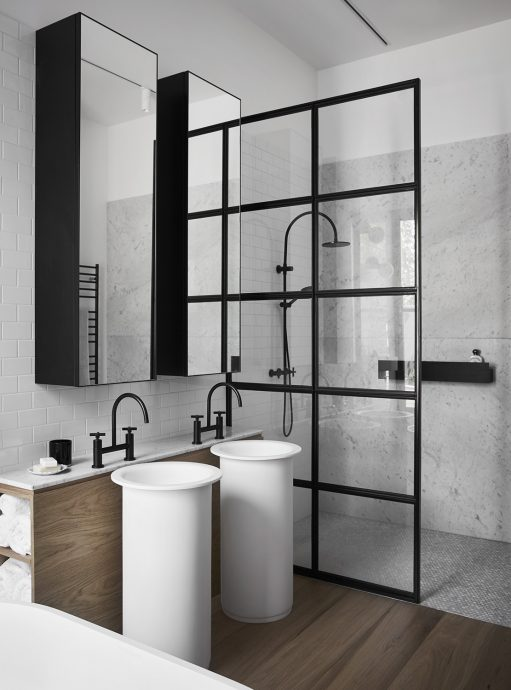 Bathroom Interior - Normonby - Whiting Architects - Melbourne, VIC, Australia - The Local Project