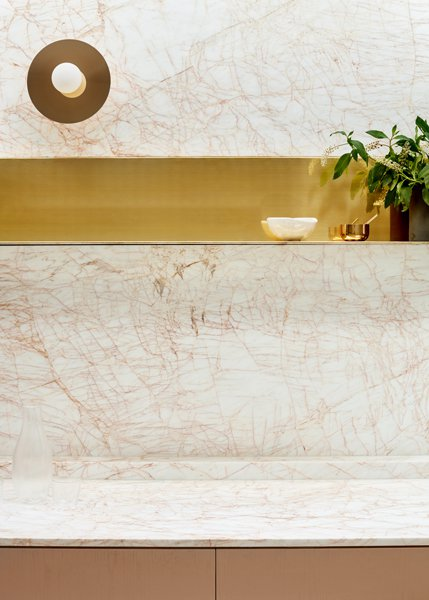 Interior Marble - Middle Park House - Fiona Lynch - Collingwood, VIC, Melbourne - The Local Project