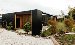Rustic modern design of Five Yards House by Archier, Hobart, TAS (7)