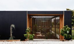 Rustic modern design of Five Yards House by Archier, Hobart, TAS