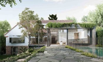 Local Australian Architecture & Design Malvern Garden House Created By Taylor Knights 3