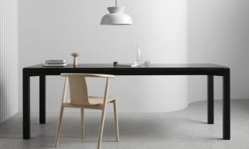 The Aod T Dining Table In Black.
