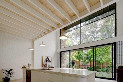 Local Australian Interior Design And Architecture Brick Aperture House Designed By Kga 2