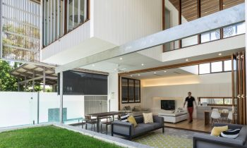 Local Australian Architecture And Interior Design Backyard House By Joe Adsett Architects 4 Min