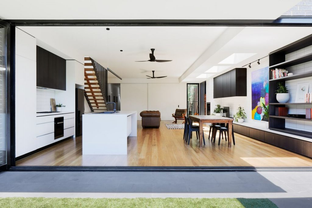 Local Australian Architecture And Interior Design Brunswick House Created By Chan Architecture 9