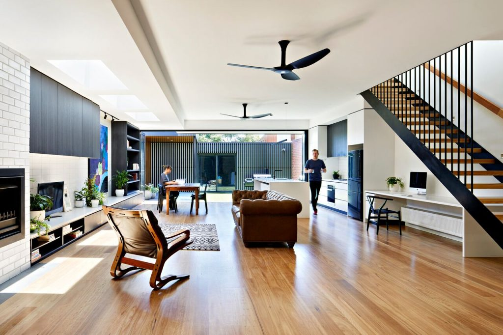 Local Australian Architecture And Interior Design Brunswick House Created By Chan Architecture 3