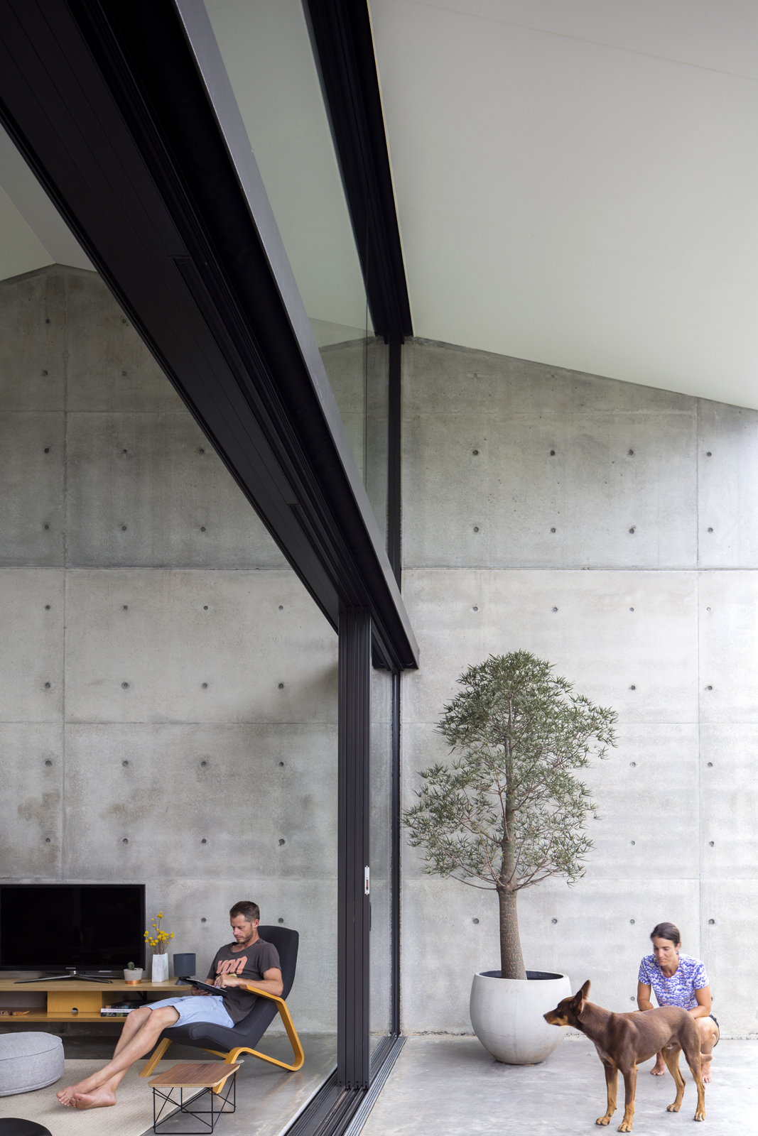 Gallery Of Binary House By Christopher Polly Architect Local Australian Design And Interiors Woolooware, Nsw Image 24