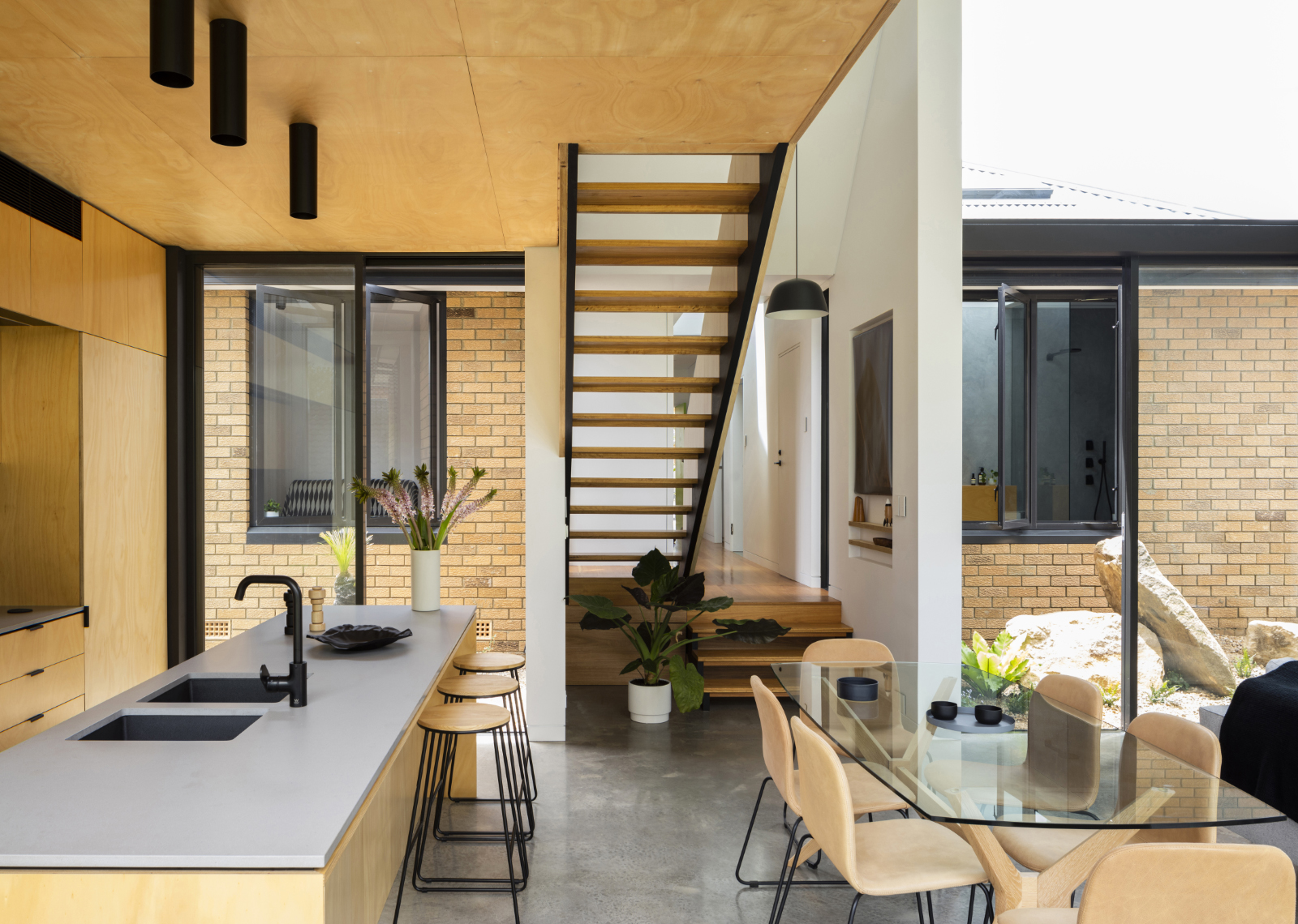 Gallery Of Binary House By Christopher Polly Architect Local Australian Design And Interiors Woolooware, Nsw Image 10