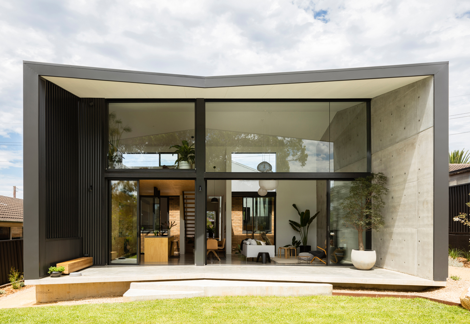 Gallery Of Binary House By Christopher Polly Architect Local Australian Design And Interiors Woolooware, Nsw Image 7