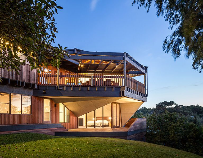 Gallery Of Chamfer House By Mihaly Slocombe Local Australian Design And Interiors Frankston South,vic,australia Image 1