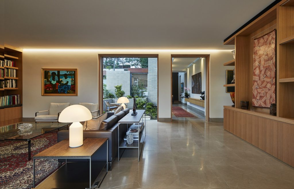 Gallery Of Castlecrag House By Porebski Architects Local Design And Interiors Castlecrag,nsw Image 18