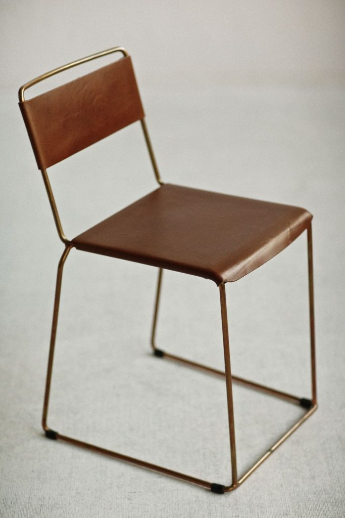 Uccio Leather Chair By Barbera Local Australian Furniture, Object & Lighting Design