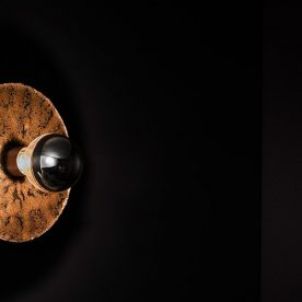 Igneous Wall Light by Ash Allen