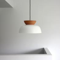 Hat pendant light by Luke Mills of LUMIL
