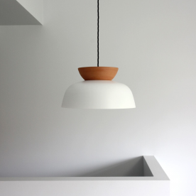Hat pendant light by Luke Mills of LUMIL