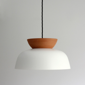 Hat Pendant light by Luke Mills of LUMIL bespoke lighting design