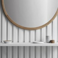 The AOM Mirror exudes the Scandinavian style and sophistication that all Made by Morgen products are known for. This piece is the perfect addition to any residential space.