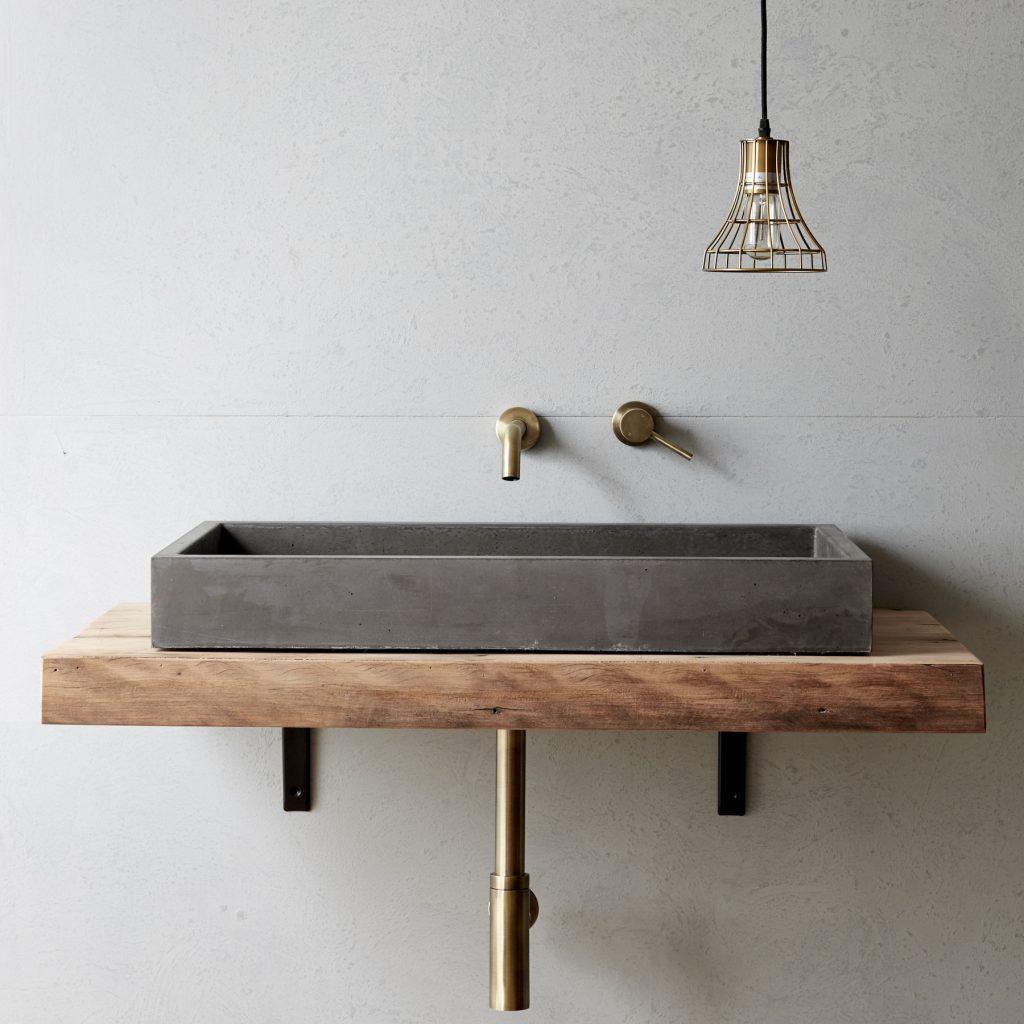 Cube Basin By Concrete Nation Local Australian Bespoke Bathrooms Gold Coast, Qld Image 1