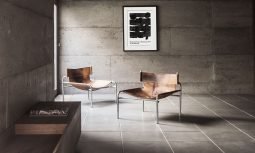 The Material's Textural Qualities And Sheer Mass Creating A Powerful Presence