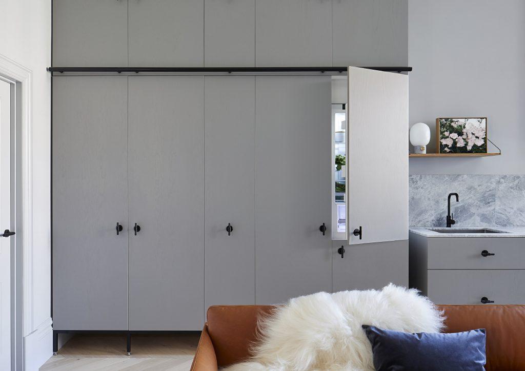 Hidden Appliances - The Kew Apartment, Melbourne - Sarah Wolfendale of Techne