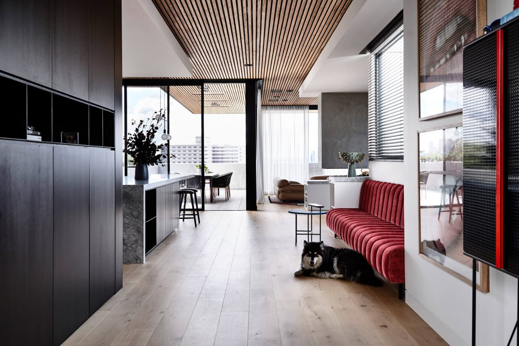 Holly Penthouse By Tom Robertson Architects Project Feature Melbourne, Australia Local Australian Design & Architectureholly R V Derek028