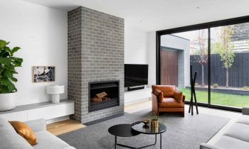 , In The Process Developing A Home That Matched The Leafy Suburban Neighbourhood Exterior.