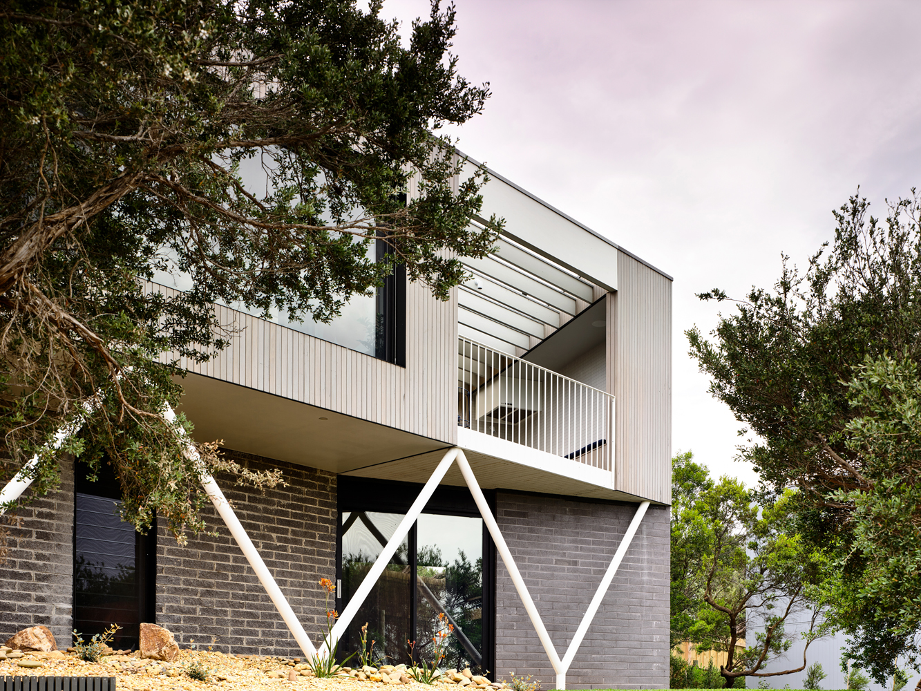 Completing The Evolution Of The Existing Building Into A Contemporary Dwelling.