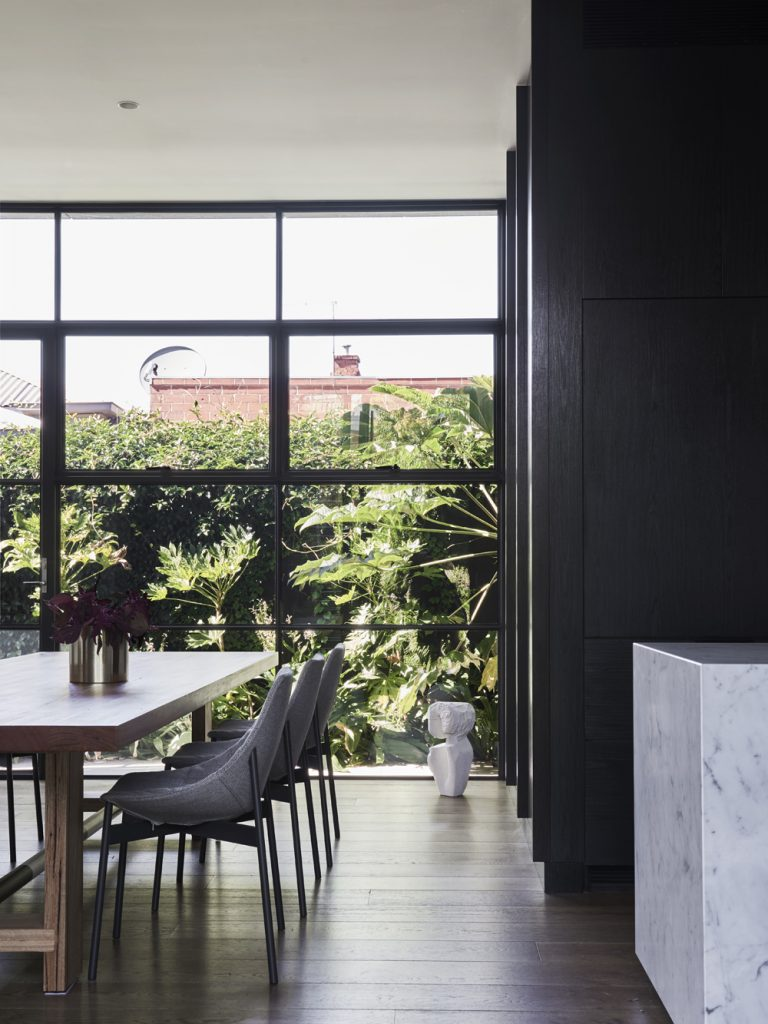 These Spaces Have Been Divided Into 3 Gardens; A Passive Central Green Courtyard, A Raised Deck For Socialising And A Smaller Courtyard To The South
