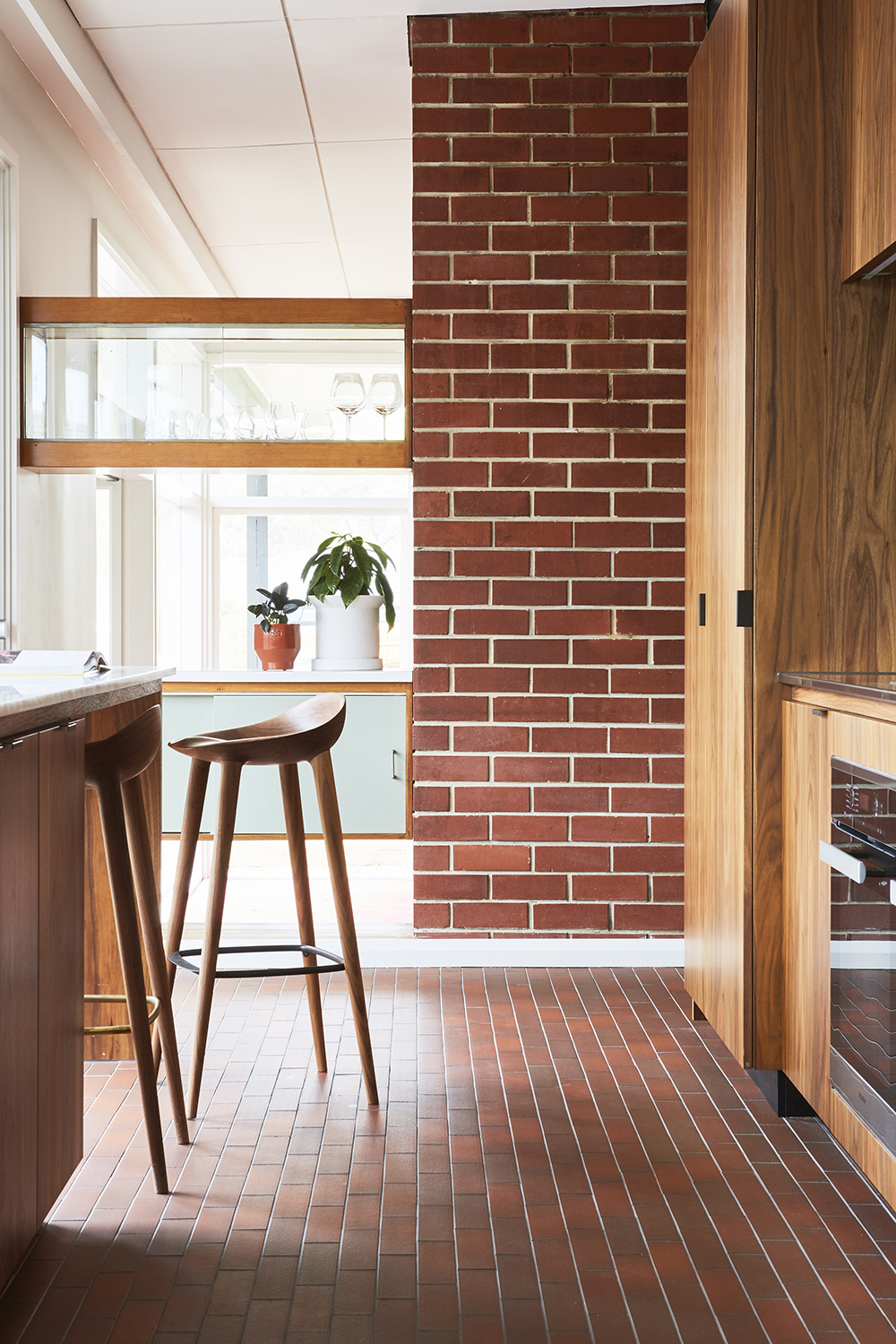 The Frankston House, Restored By Mrtn Architects In The Spirit Of The Original 1963 Design By Jack Clark.