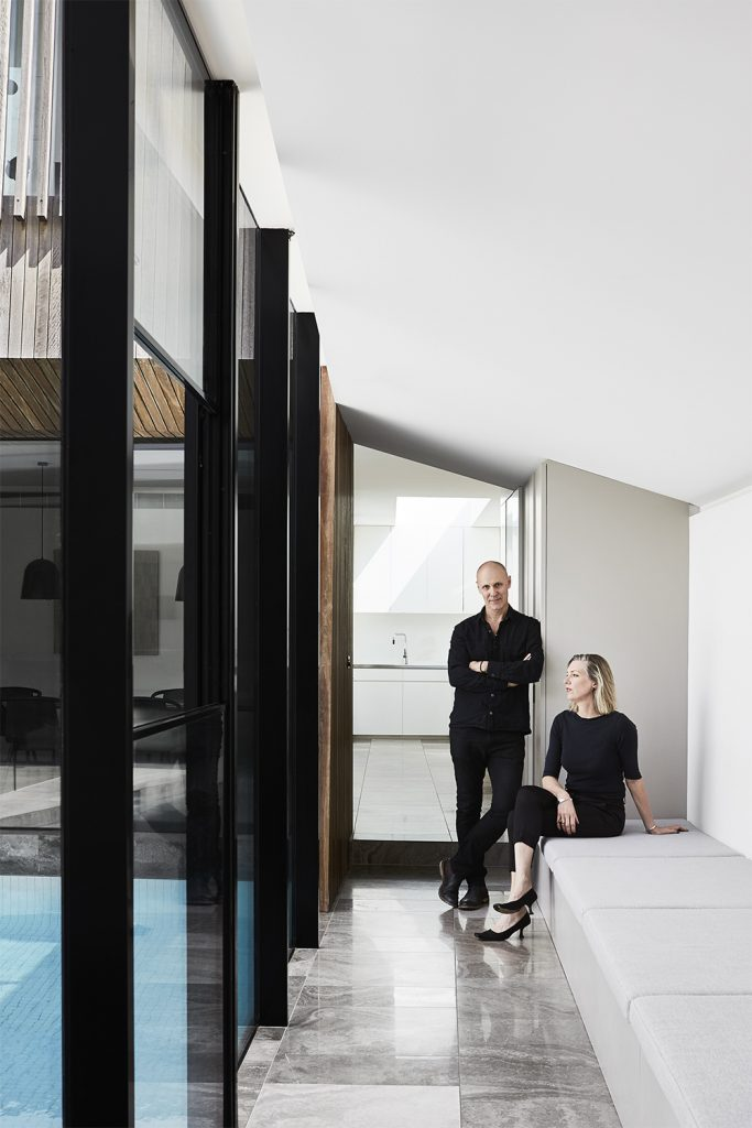 Which Expand Into The Courtyard, The External Space Becoming An Extension Of The Internal Zones.
