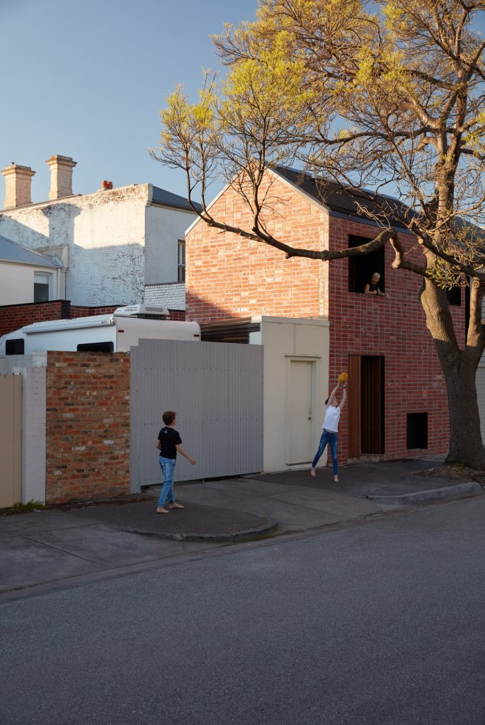 The Quiet Street Populated By Roller Doors And Outbuildings Provided The Impetus For A Design That Is Robust And Informal.