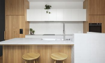 Form follows function with the bespoke joinery.