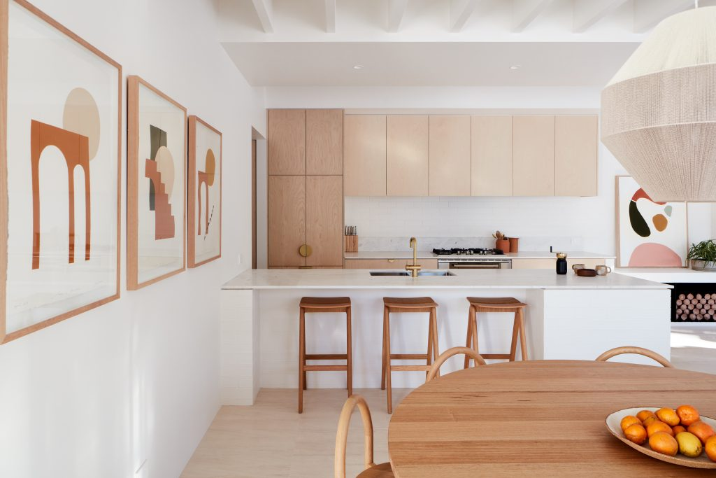 The Street Elevation References The Home's Previous 1980s Life With Three Distinctive Curves