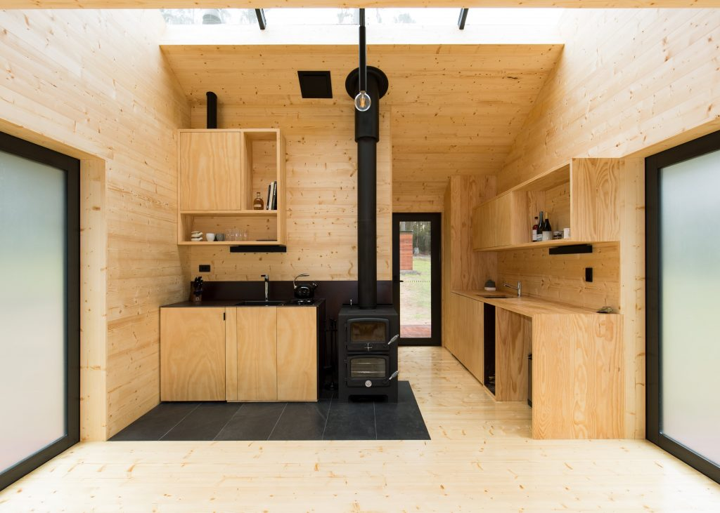 Through This, She Developed A Strong Love For Minimalist Design And Envisioned A Holiday Home