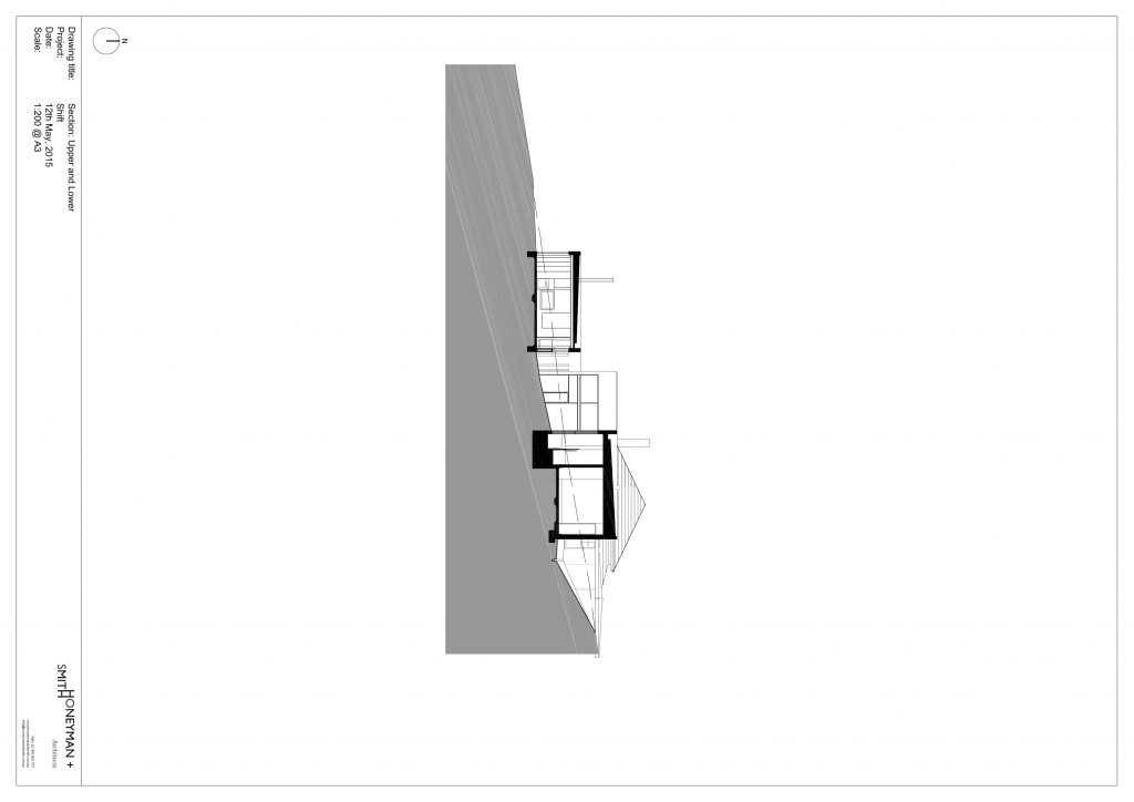 Connected By A Central Stair And Linear Ramp