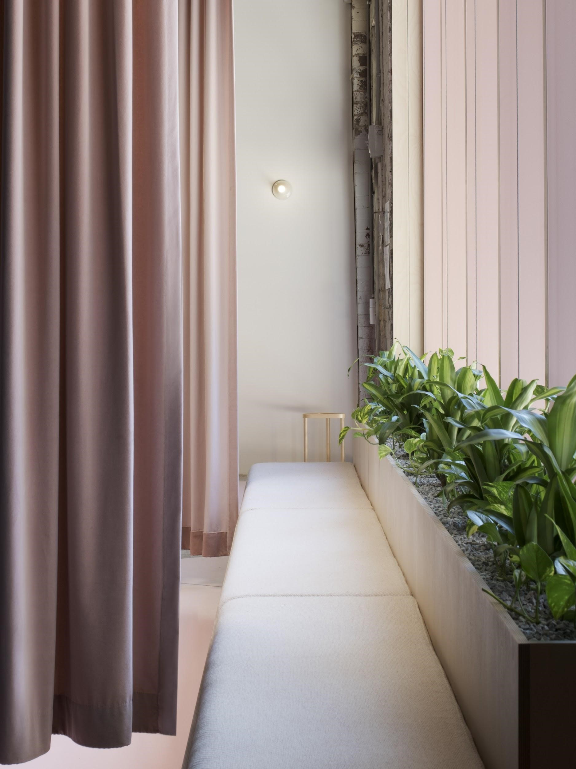 The Curtains Allow For More Flexible Workspaces That Encourage Collaboration