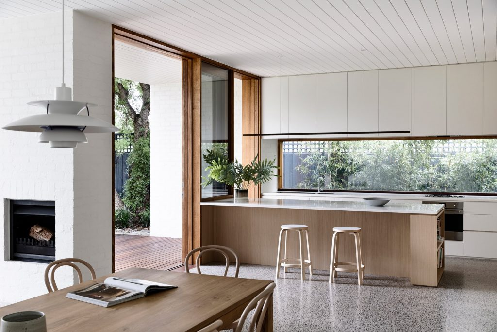 Their Firms' Approach To Domestic Living And Fusing The Old And The New For A Family In Melbourne.