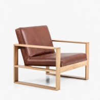 With Clean Lines And Detailed Upholstery Once You Sit In This Chair You Won't Want To Get Out.